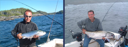Two Fishing Charters - Two Salmon